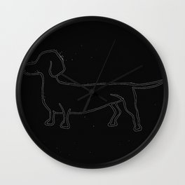 Doxie 2 Wall Clock