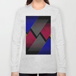 Dark Triangles Long Sleeve T-shirt