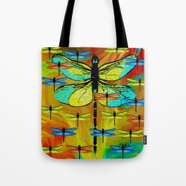 DRAGONFLY FORMATION Tote Bag