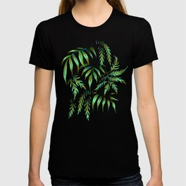 Brooklyn Forest - Green T-shirt