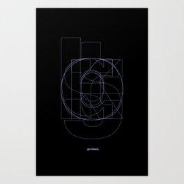 Die Neue Haas Grotesk (B-03) Art Print