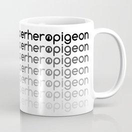 Superhero Pigeon Fade Coffee Mug
