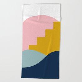 Desert Sun Beach Towel