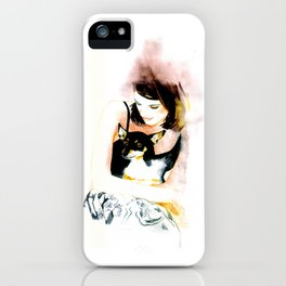 My lovely dog  iPhone Case
