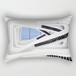 Zaha H A D I D   architect   Dominion Office Building Rectangular Pillow