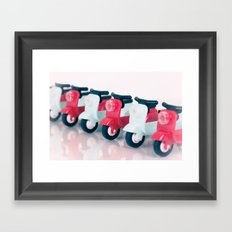 Zoom Zoom Framed Art Print