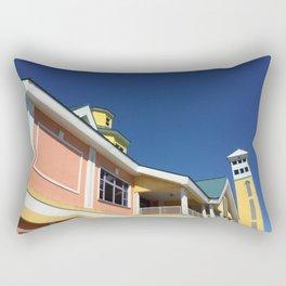 Colour Block Bahamas  Rectangular Pillow