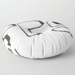 FFS Slogan! Floor Pillow