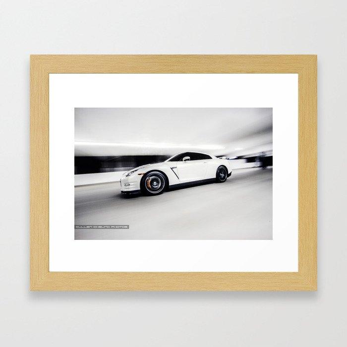 R35 GTR Framed Art Print