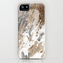 Vanilla Chocolate Sundae Melt iPhone Case