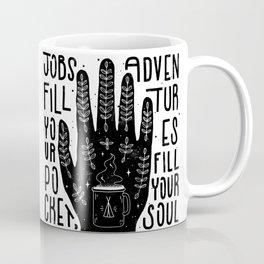 Jobs vs Adventures Coffee Mug