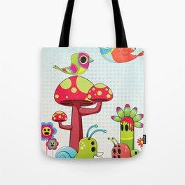 Critter Romance Tote Bag