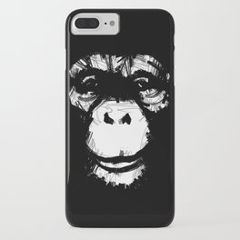 Everything's More Fun With Monkeys! iPhone Case