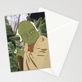 Yoda (Vector Art) Stationery Cards