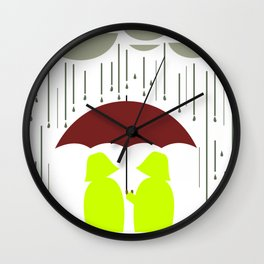 Share my Umbrella Wall Clock