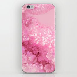 Sweet Pink Crystals iPhone Skin