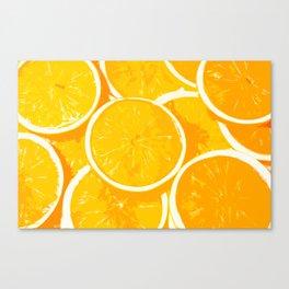 Orangy Oranges Canvas Print