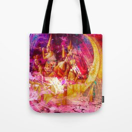 """ Of two things the moon the other one, it is the sun. "" Tote Bag"