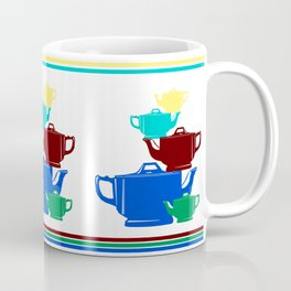 Favoriteware Stacked Pots Coffee Mug