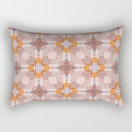 Moroccan flower baskets Rectangular Pillow
