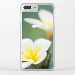 in the happy garden Clear iPhone Case