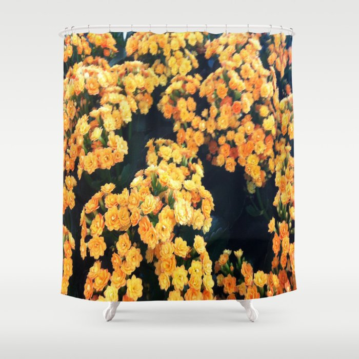 Yellow Flowers Shower Curtain By Cezean Society6
