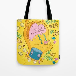 Mental Health for Rent Tote Bag