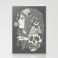 bubblegum Stationery Cards featuring Bubblegum by DaggersForTeeth