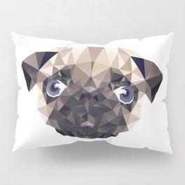 Pug Diamonds Pillow Sham