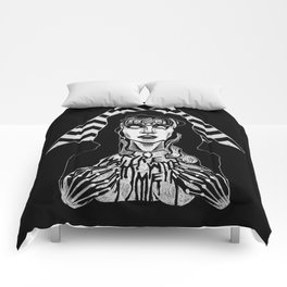 She's Filled with Secrets - Laura Palmer - Twin Peaks Comforters