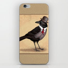 Mr Crow On Payday iPhone Skin