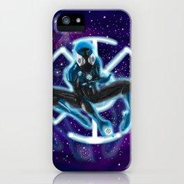 Blue Lantern Spidey iPhone Case