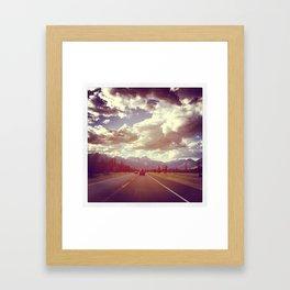 Mountain Roads Framed Art Print