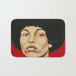 "Angela Davis ""Revolutionary"" Bath Mat"