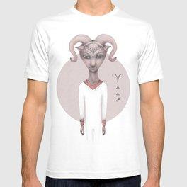 aries astro portrait T-shirt
