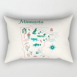 Minnesota State Love Rectangular Pillow