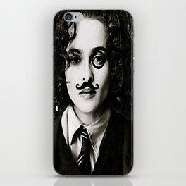Helena Bonham... Chaplin? iPhone Skin