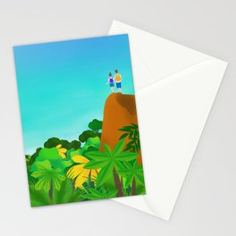 On top of the world with you Stationery Cards