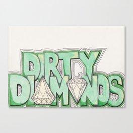 Dirty Diamonds Canvas Print
