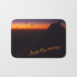 Just Fly Away Bath Mat