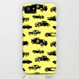 Classic Cars // Yellow iPhone Case