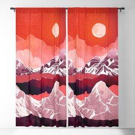 Scarlet Glow Blackout Curtain