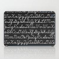 teacher iPad Cases featuring School teacher #3 by Juliana RW