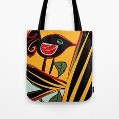 Singing bird Tote Bag