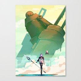 2B Canvas Print