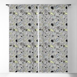 """""""Cells and bacteria's party"""" Blackout Curtain"""