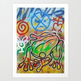 Coqui Art Print