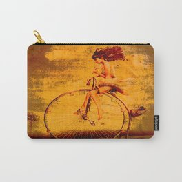""""""" The life, it is as a bicycle, it is necessary to move forward not to lose the balance. """" Carry-All Pouch"""