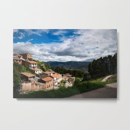Emperor Cusco Metal Print