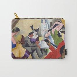 Andre Lhote - Gypsy Bar (La Danse au Bar) 1925 - Artwork for Wall Art, Prints, Posters, Tshirts, Men Carry-All Pouch